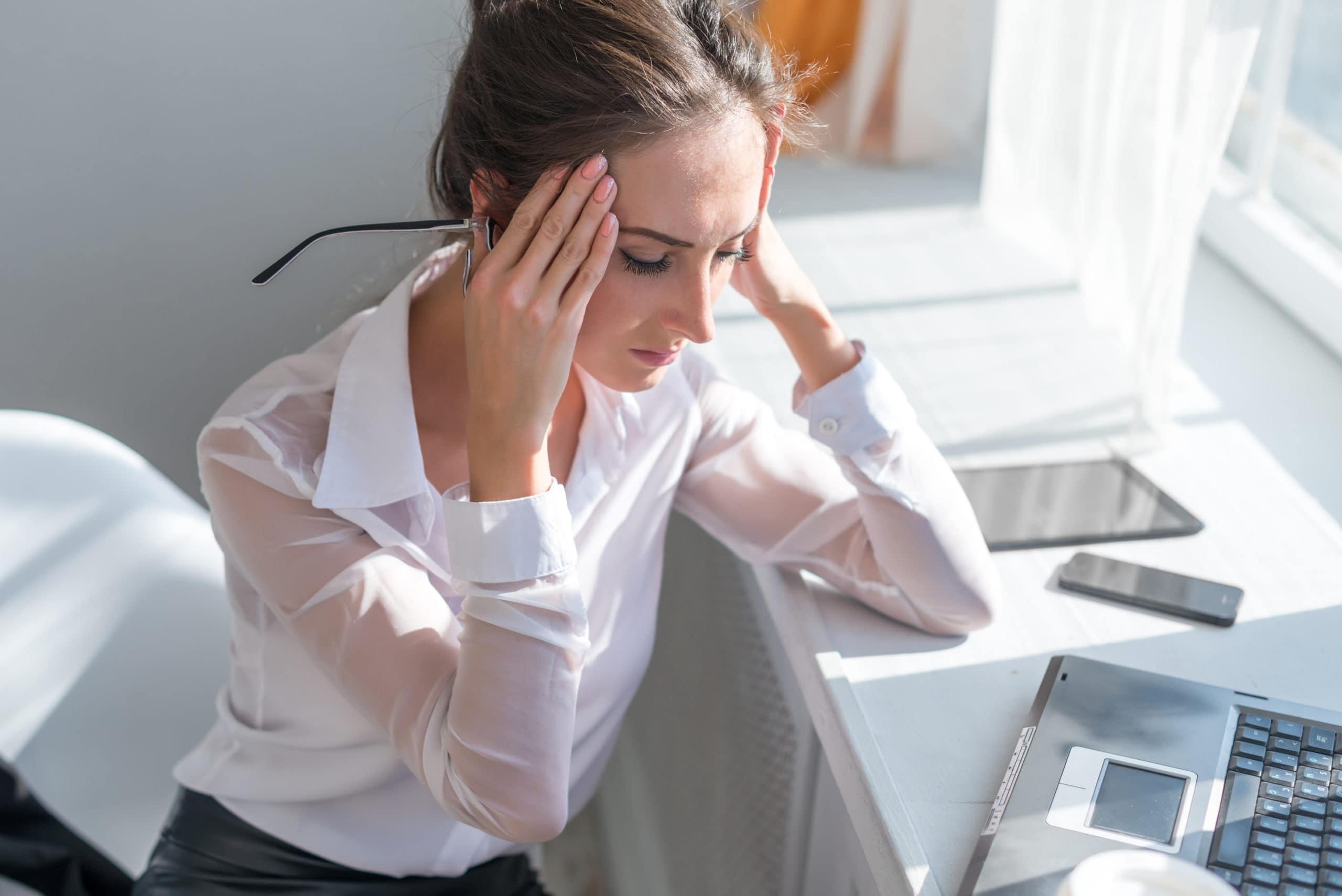 Symptoms Of A Tension Headache